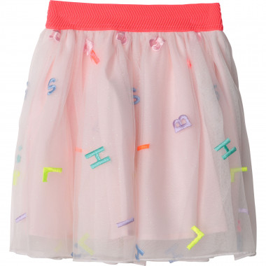 Embroidered tulle skirt BILLIEBLUSH for GIRL