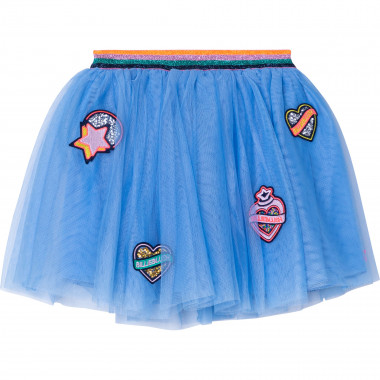 Tulle patched-motif skirt BILLIEBLUSH for GIRL