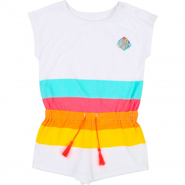 Striped playsuit with shell BILLIEBLUSH for GIRL