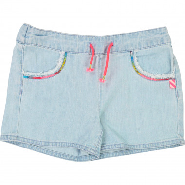 Sequined jean shorts BILLIEBLUSH for GIRL