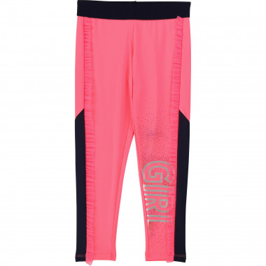 Pieced leggings with frills BILLIEBLUSH for GIRL