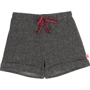 Patterned fleece shorts BILLIEBLUSH for GIRL