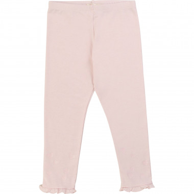 Heart-motif frilled leggings BILLIEBLUSH for GIRL