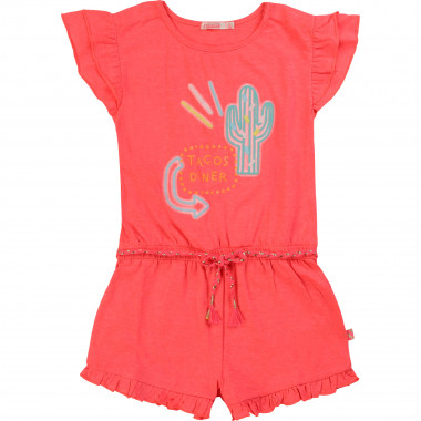 Neon-effect printed playsuit BILLIEBLUSH for GIRL