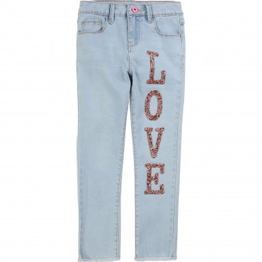 Stretch denim trousers BILLIEBLUSH for GIRL