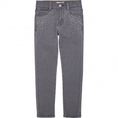 Jeans with rhinestones BILLIEBLUSH for GIRL