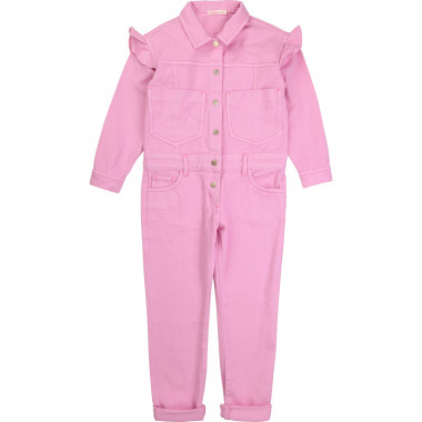 Drill playsuit with frills BILLIEBLUSH for GIRL