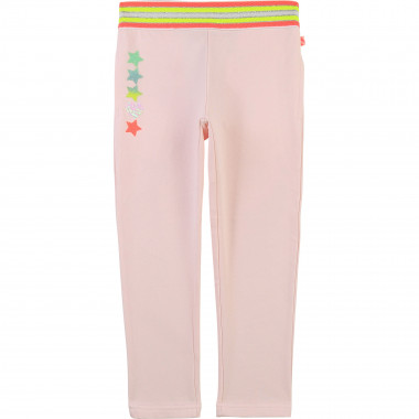 Cotton fleece trousers BILLIEBLUSH for GIRL