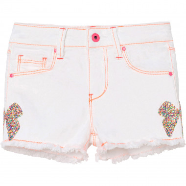 Cotton drill shorts BILLIEBLUSH for GIRL