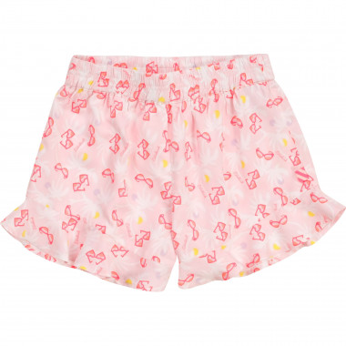 Patterned viscose shorts BILLIEBLUSH for GIRL