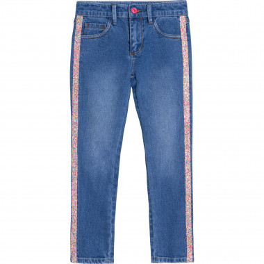 Jeans with novelty stripe BILLIEBLUSH for GIRL