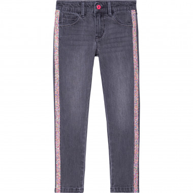 Jeans with novelty stripes BILLIEBLUSH for GIRL