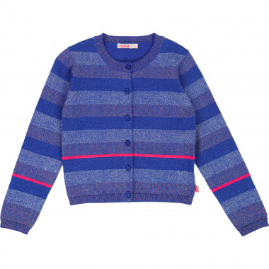 Knitted cardigan with stripes BILLIEBLUSH for GIRL