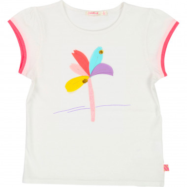 Pleated jersey T-shirt BILLIEBLUSH for GIRL