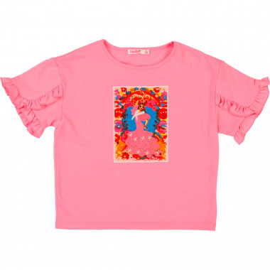 Ruffled T-shirt BILLIEBLUSH for GIRL