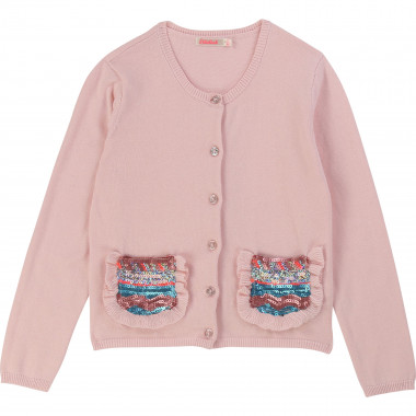 Knitted cotton cardigan BILLIEBLUSH for GIRL
