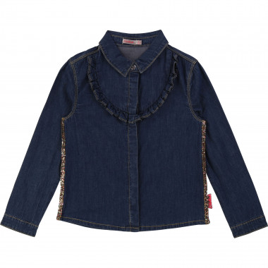 Stretch denim shirt BILLIEBLUSH for GIRL