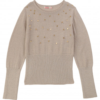 Tricot jumper with sequins BILLIEBLUSH for GIRL