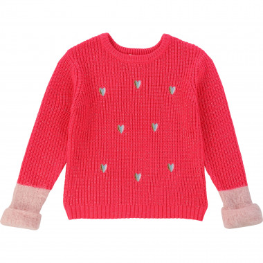 Tricot jumper with embroidery BILLIEBLUSH for GIRL