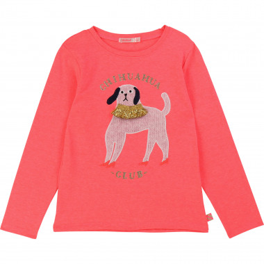 Printed jersey t-shirt BILLIEBLUSH for GIRL