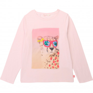 Printed cotton jersey t-shirt BILLIEBLUSH for GIRL