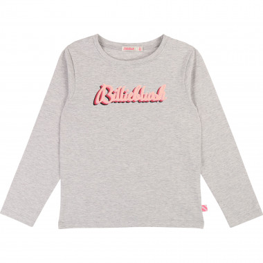 Sparkly cotton t-shirt BILLIEBLUSH for GIRL