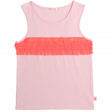 Cotton jersey vest top BILLIEBLUSH for GIRL