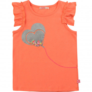 Sequined jersey T-shirt BILLIEBLUSH for GIRL