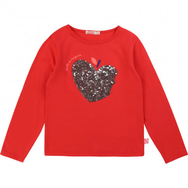 T-shirt with sequin motif BILLIEBLUSH for GIRL