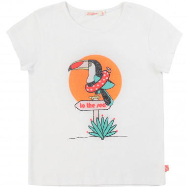 Printed cotton T-shirt BILLIEBLUSH for GIRL