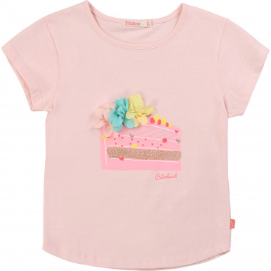 Flowery sequined T-shirt BILLIEBLUSH for GIRL