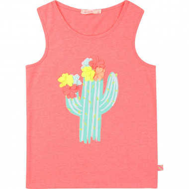 Illustrated vest top BILLIEBLUSH for GIRL