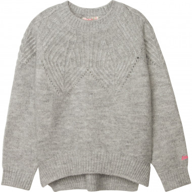Decorative tricot jumper BILLIEBLUSH for GIRL