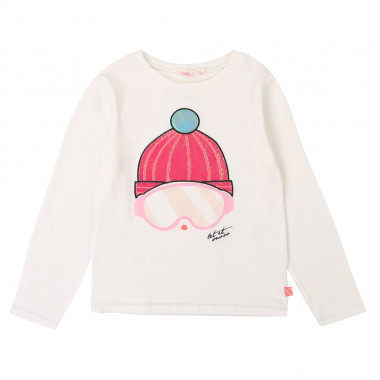 Cotton t-shirt with print BILLIEBLUSH for GIRL