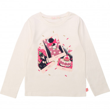Cotton t-shirt with bow BILLIEBLUSH for GIRL