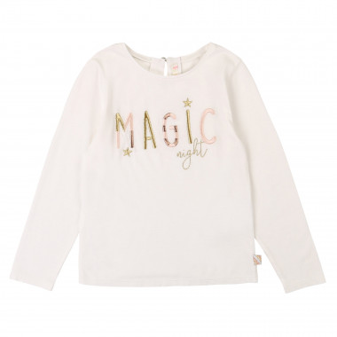 T-shirt with embroidery BILLIEBLUSH for GIRL