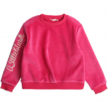 Velvet fleece sweatshirt BILLIEBLUSH for GIRL
