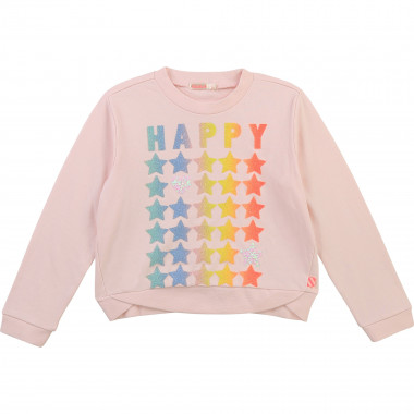 Fleece novelty sweatshirt BILLIEBLUSH for GIRL
