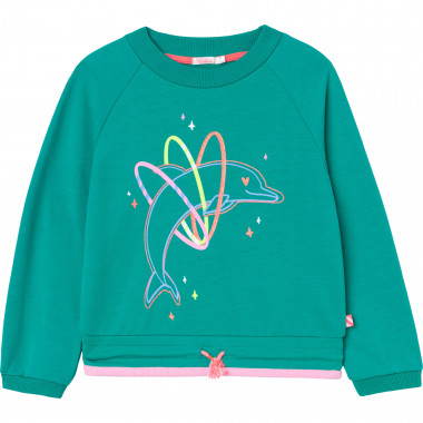 Fleece sweatshirt BILLIEBLUSH for GIRL