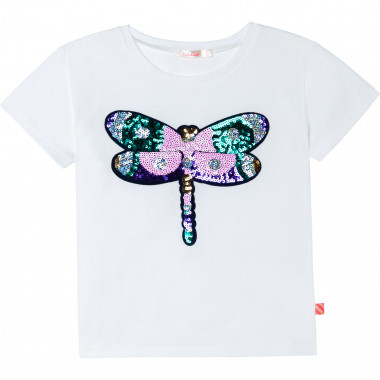 Cotton T-shirt with butterfly BILLIEBLUSH for GIRL