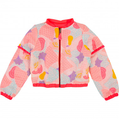 Reversible printed jacket BILLIEBLUSH for GIRL
