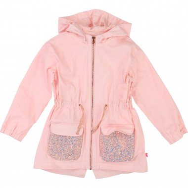 Glittery parka BILLIEBLUSH for GIRL