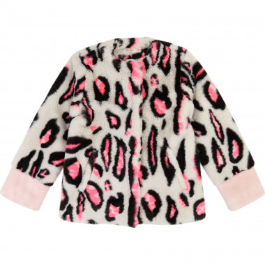 Printed fur jacket BILLIEBLUSH for GIRL