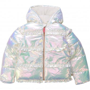 Lined hooded winter jacket BILLIEBLUSH for GIRL