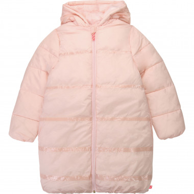 Long hooded winter jacket  for