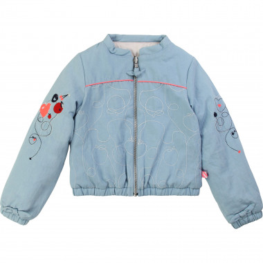 Reversible bomber jacket BILLIEBLUSH for GIRL