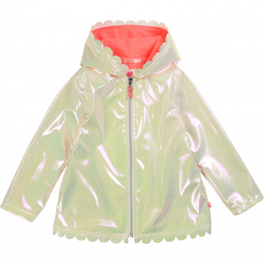 Waterproof hooded jacket BILLIEBLUSH for GIRL