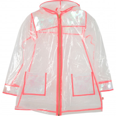 Transparent waterproof jacket BILLIEBLUSH for GIRL