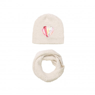 Pull on hat and snood BILLIEBLUSH for GIRL
