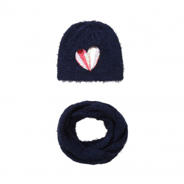 Pull on hat and snood  for